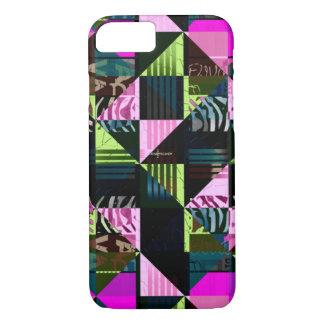 Trippy Leuchtstoff rosa Diva iPhone 8/7 Hülle