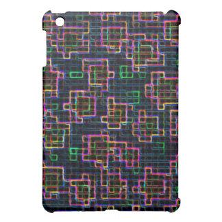 Trippy Pixel-Kunst iPad Mini Hülle