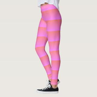 trippy rosa Gamaschen Leggings
