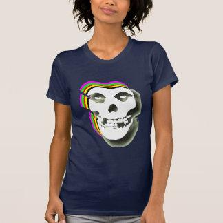 Trippy Schädel T Shirt