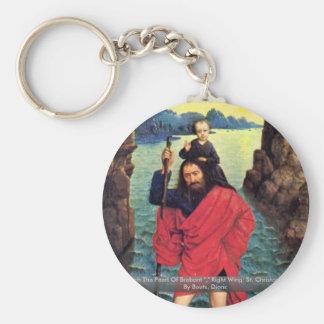 Triptychon die Perle von Brabant Standard Runder Schlüsselanhänger