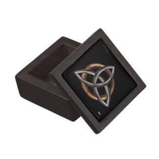 Triquetra (Brown/Silber) Schachtel