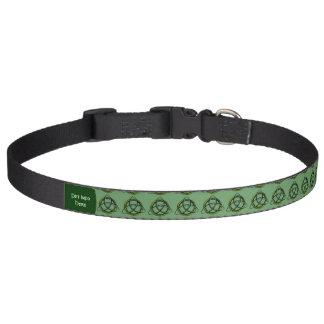 Triquetra (Grün) Haustierhalsband