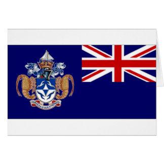Tristan DA Cunha Flagge Alt Karte