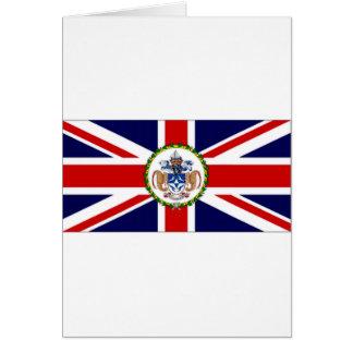 Tristan DA Cunha Flaggenalternative Karte