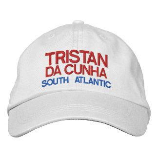 Tristan DA Cunha* Insel-Hut Bestickte Kappe