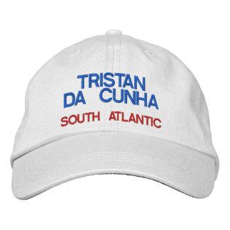 Tristan DA Cunha* Insel-Hut Bestickte Baseballkappen