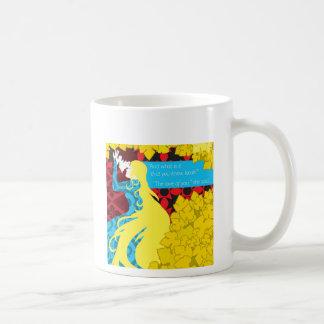 Tristan und Iseult Geschenk mit Zitat Kaffeetasse