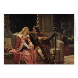 Tristan und Isolde, Edmund Blair Leighton, 1902 Karte
