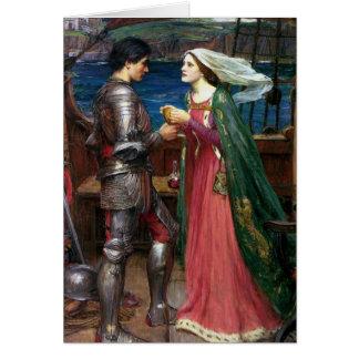 Tristan und Isolde-Gruß-Karte Karte