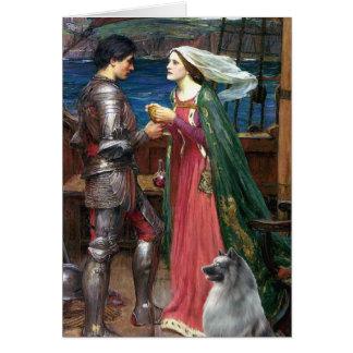 Tristan und Isolde - Keeshond (c) Karte