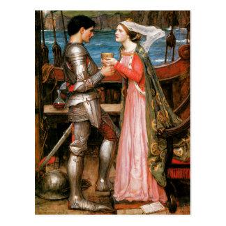 Tristan und Isolde Postkarte