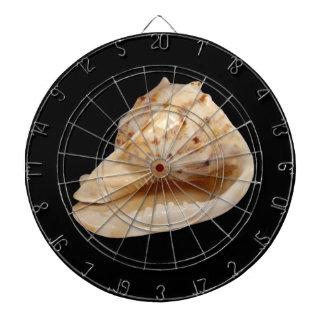 Tritonshorn-MuschelDartboard Dartscheibe