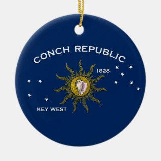 Tritonshorn-Republik Key West Keramik Ornament