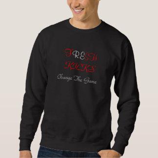 Tritt-Strickjacke Sweatshirt