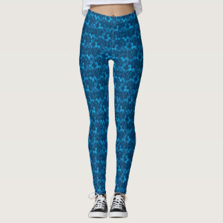 Tritty Foxtrotter Blau Leggings