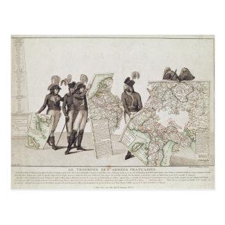 Triumph der französischen Armeen Postkarte