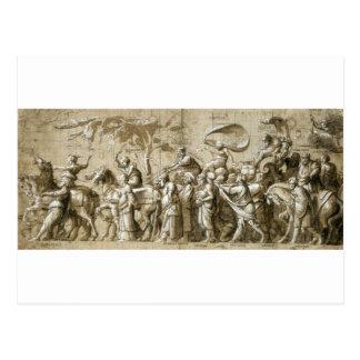 Triumph des Reichtums durch Hans Holbein das Postkarte