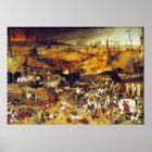 Triumph des Todes (durch Pieter Bruegel) Poster