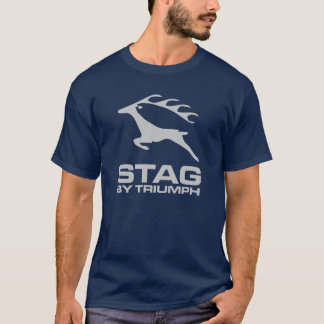 Triumph-Hirsch-Auto-klassische Vintage wandernde T-Shirt