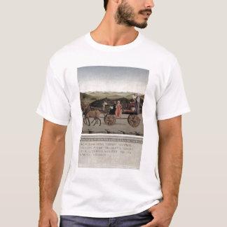 Triumph von Battista Sforza, Herzogin von Urbino. T-Shirt
