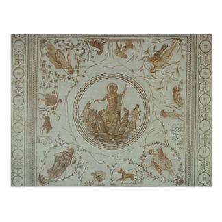 Triumph von Neptun und von vier Jahreszeiten Postkarte