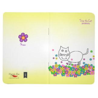 Trixie die Katzentaschenzeitschrift Taschennotizbuch