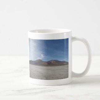 Trockene Länder Kaffeetasse