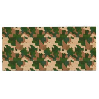 Trockene Tundra-Camouflage Holz USB Stick