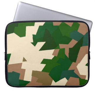 Trockene Tundra-Camouflage Laptop Sleeve