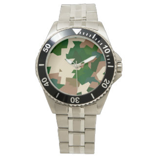 Trockene Tundra-Camouflage Uhr