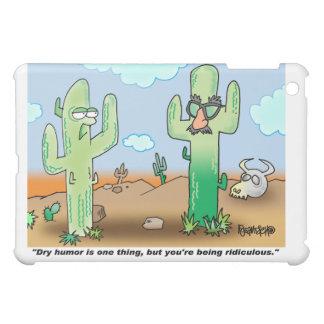 Trockener Spaß des Kaktus-Cartoon-| iPad Mini Hülle