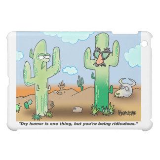 Trockenes Spaß | des Kaktus-Cartoon-| iPad iPad Mini Hülle