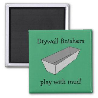 Trockenmauer-EBB-Spiel mit Schlamm-Magneten Quadratischer Magnet