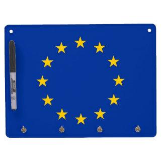 Trocknen Sie Löschen-Brett mit Flagge der Trockenlöschtafel Mit Schlüsselanhängern