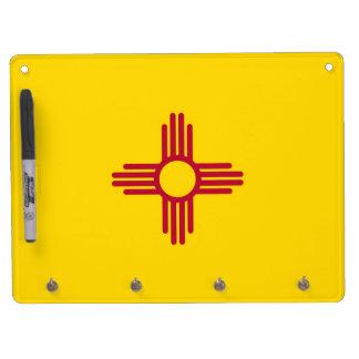 Trocknen Sie Löschen-Brett mit Flagge des New Trockenlöschtafel Mit Schlüsselanhängern