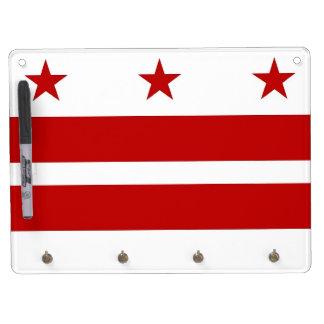 Trocknen Sie Löschen-Brett mit Flagge des Trockenlöschtafel Mit Schlüsselanhängern