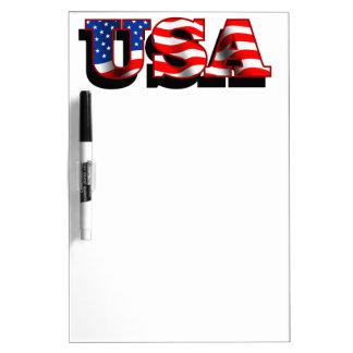 Trocknen Sie Löschen-Brett - USA 1 Memoboards