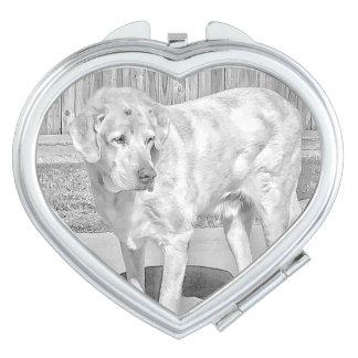 """""""Troja-Baby-"""" kundenspezifischer kompakter Spiegel Taschenspiegel"""