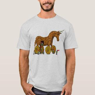 Trojan Einhorn-T-Shirt T-Shirt