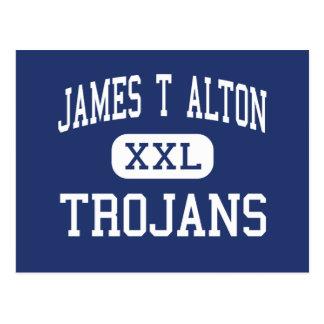 Trojan-mittlere Rebe-Waldung James T Alton Postkarte