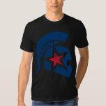 Trojan Moto (blau/Rot) Vintag Shirt