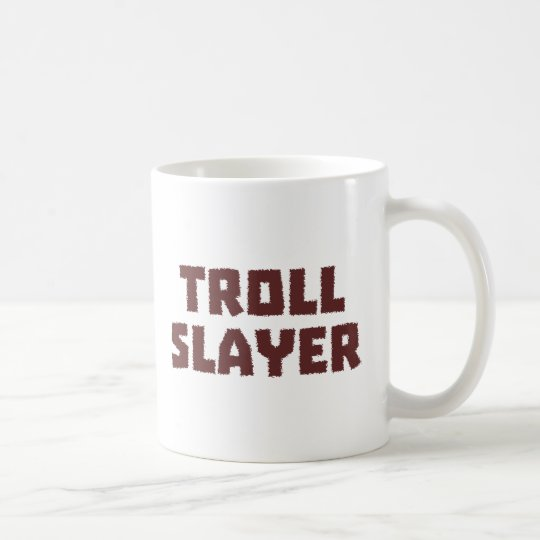 Troll Slayer Kaffeetasse