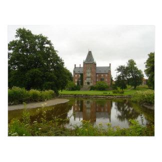 Trollenäs Schloss in Schweden Postkarte