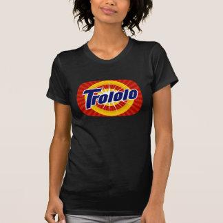 Trololo TeeVee das schwarze T-Shirt Frauen