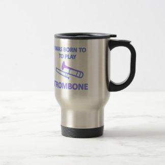 Trombone-Entwürfe Reisebecher