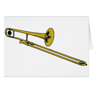 Trombone-Gang Karte