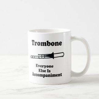 Trombone-Geschenk Kaffeetasse
