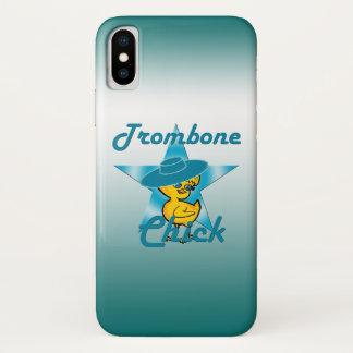 Trombone-Küken #7 iPhone X Hülle