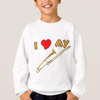 Trombone-Liebe Sweatshirt